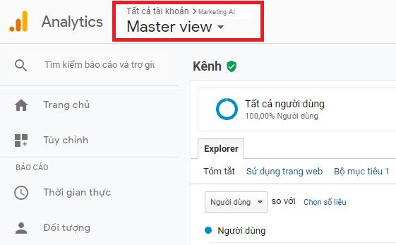 Hướng dẫn kiểm tra chỉ số Pageview trong Google Analytics