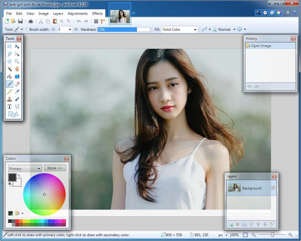 Paint - 10 phần mềm chỉnh sửa ảnh trên máy tính miễn phí