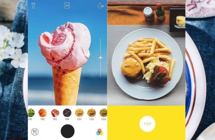 Foodie – Phần mềm chỉnh sửa ảnh