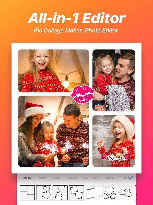 Photo Collage - Top 5 phần mềm chỉnh sửa ảnh trên điện thoại miễn phí