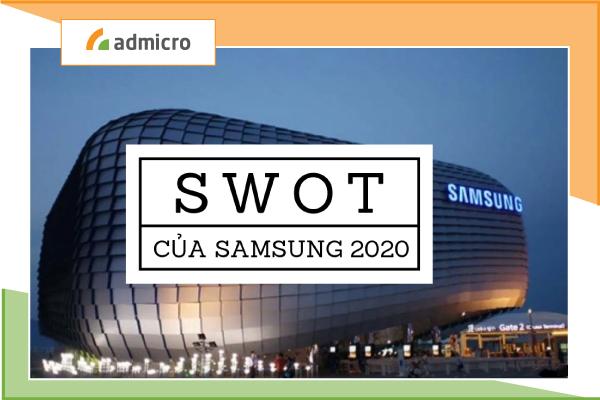 ma trận SWOT của Samsung