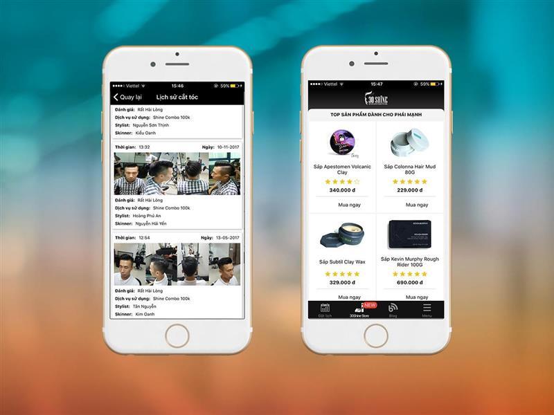 Phát triển thương hiệu qua trang web và ứng dụng