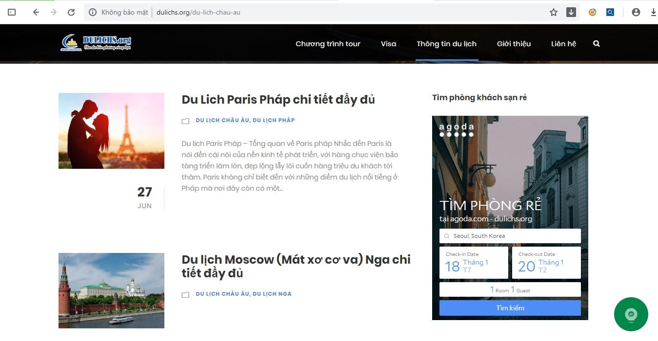 Tạo các blog hướng dẫn, review địa điểm