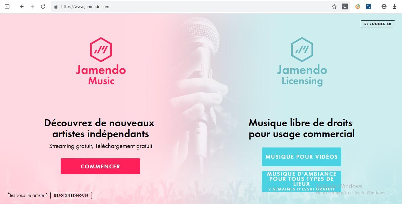 Jamendo - nhạc nền hay để thuyết trình, nhạc nền quảng cáo không lời