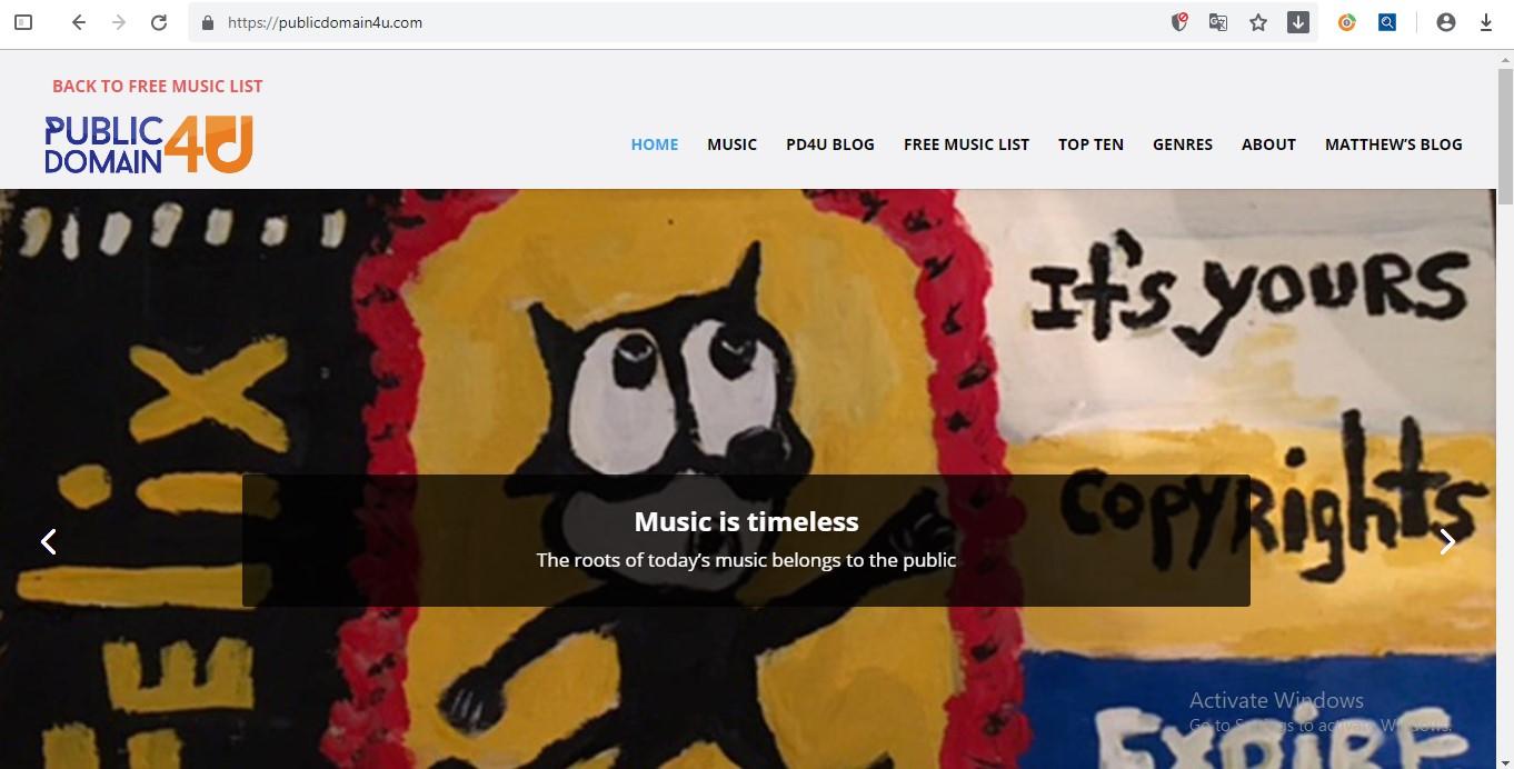 Public Domain 4U - Nhạc thiếu nhi quốc tế và Việt Nam không bản quyền