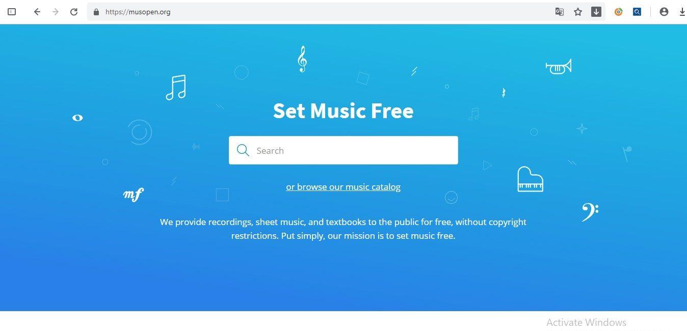 Musopen cung cấp nhạc Việt và quốc tế không bản quyền mp3