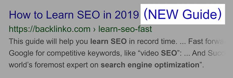 seo onpage: Sử dụng các từ bổ nghĩa cho phần tiêu đề