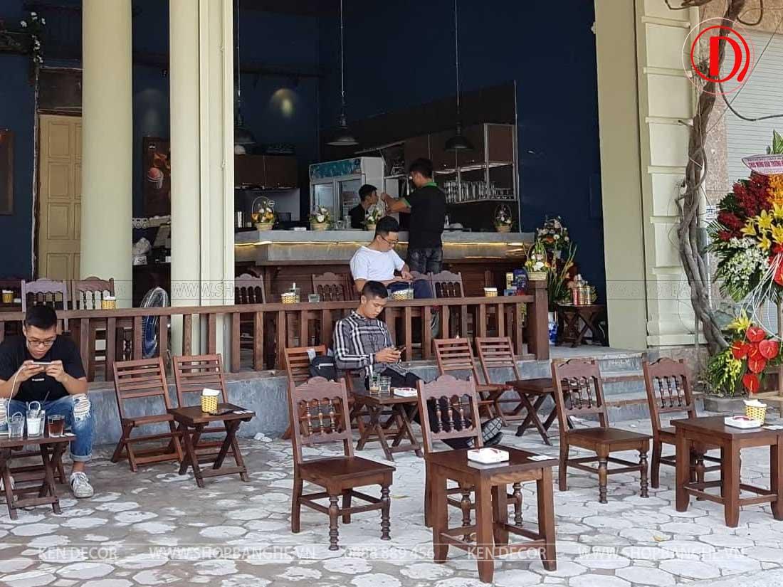 Các loại hình quán cafe - cafe vỉa hè