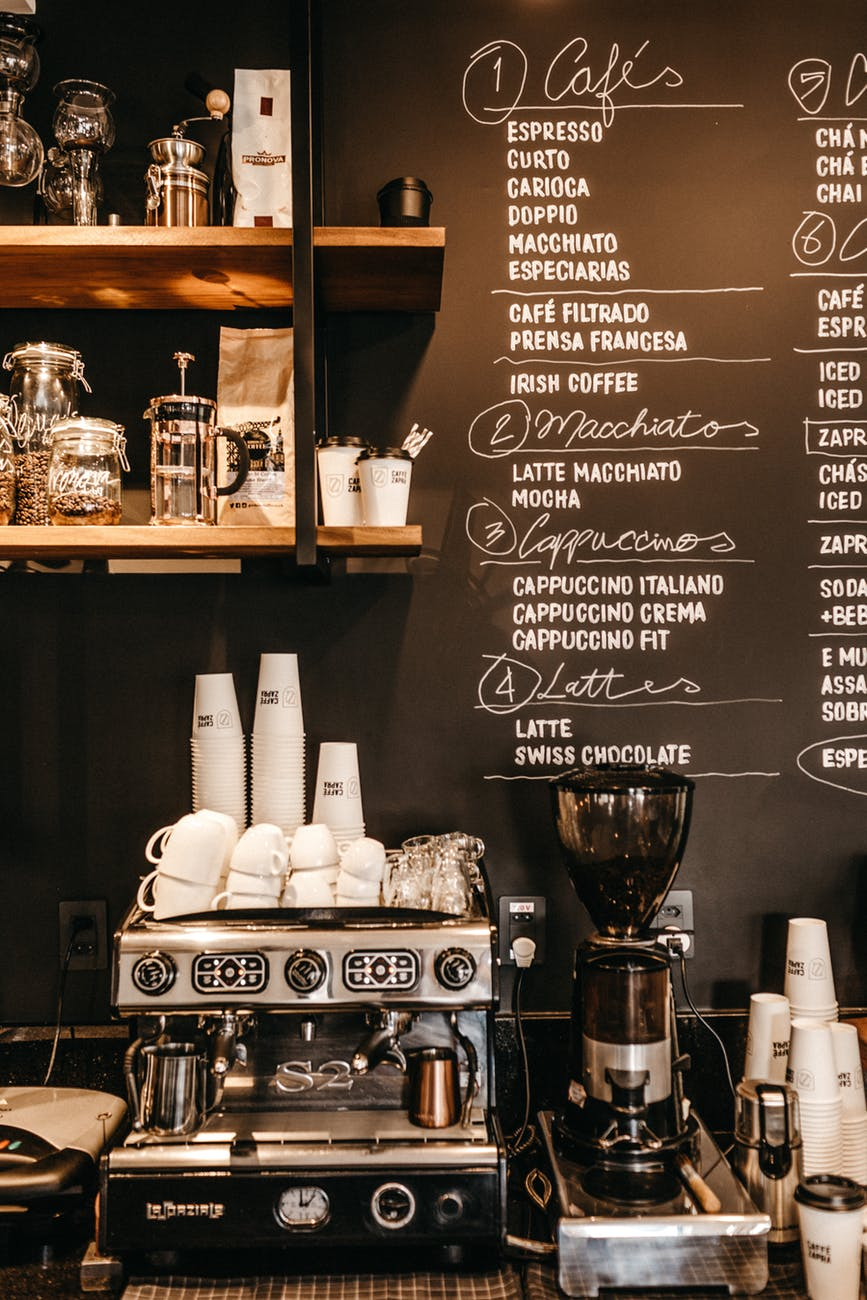 Cần chuẩn bị gì trước khi mở một quán cafe - nguồn cung cấp thiết bị