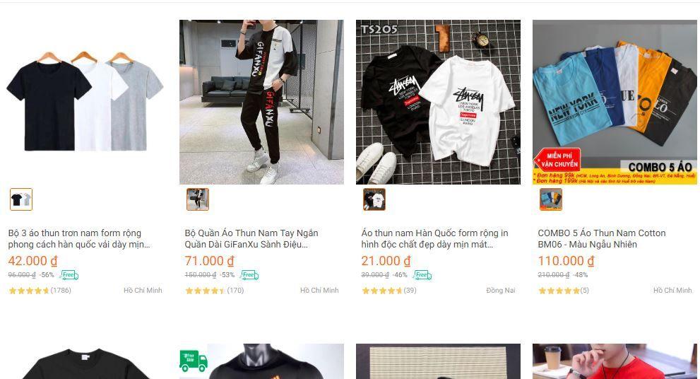 Kinh doanh quần áo, thời trang - ý tưởng kinh doanh online