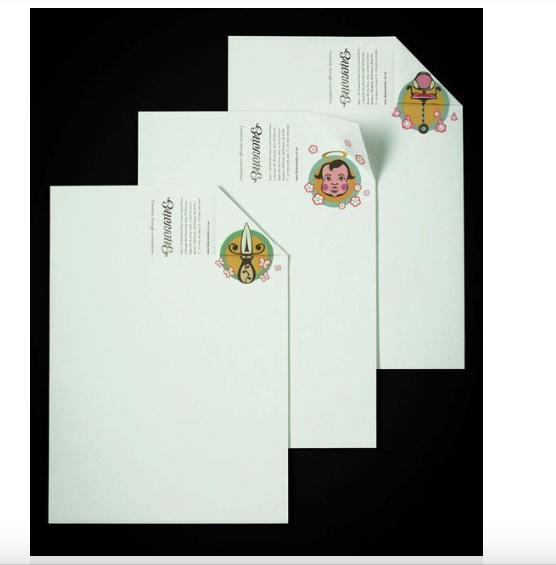 Một số mẫu letterhead đẹp 4