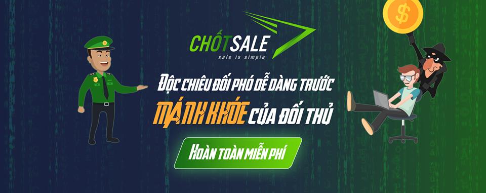 Chốt Sale - Phần mềm quản lý Fanpage thuần Việt