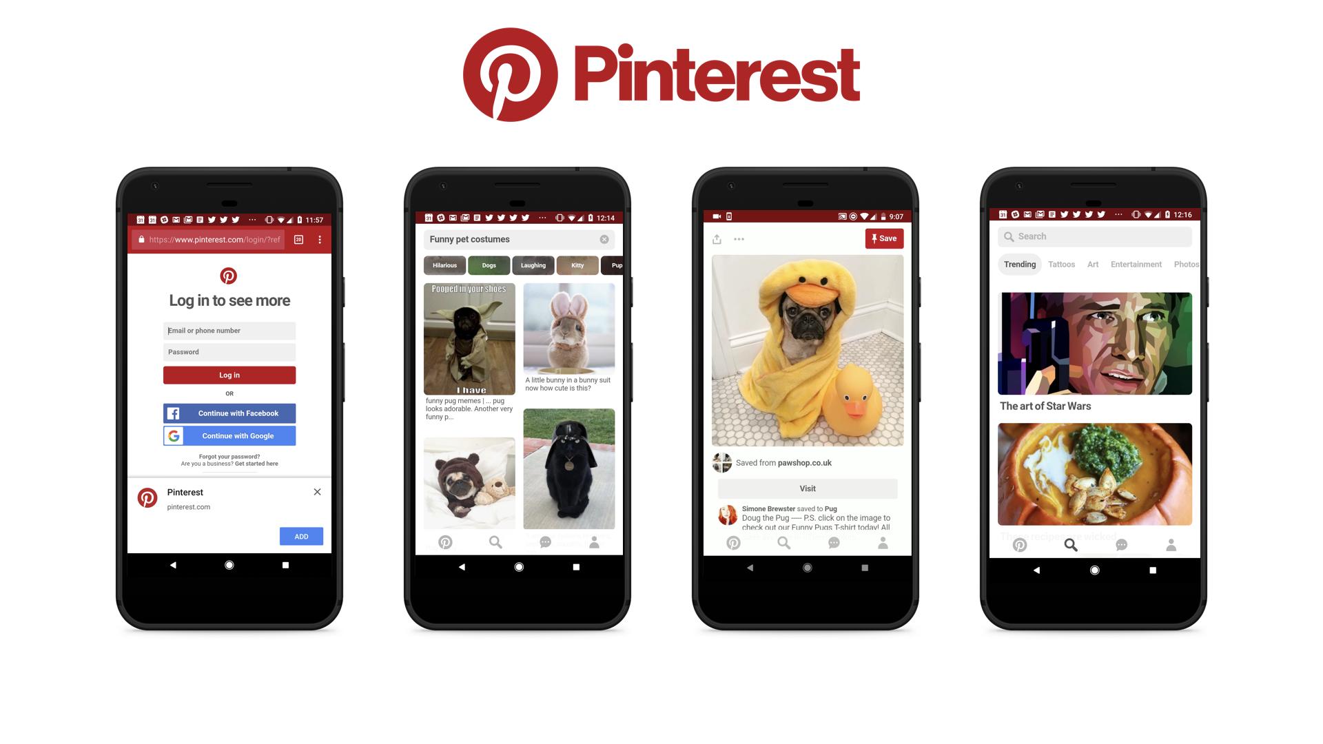 Pinterest - mạng xã hội lớn nhất hiện nay