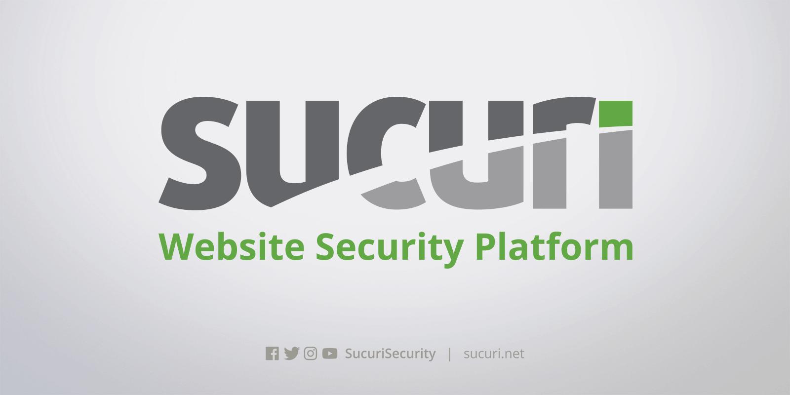 bảo mật wordpress - Sử dụng Sucuri