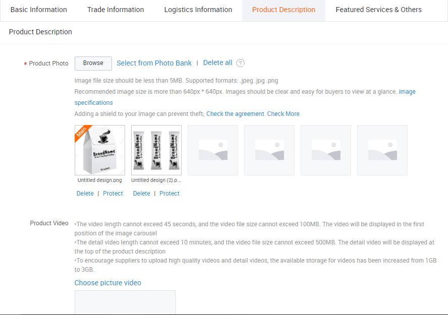 Cách đăng sản phẩm lên Alibaba 5