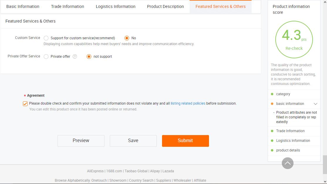 Cách đăng sản phẩm lên Alibaba 7