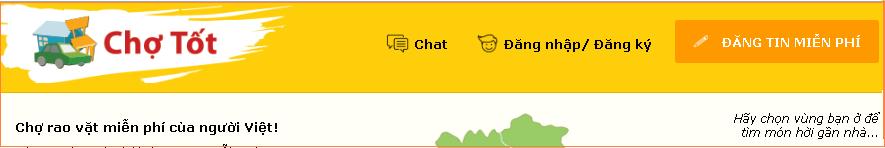 Quy trình đăng tin bán hàng trên Website