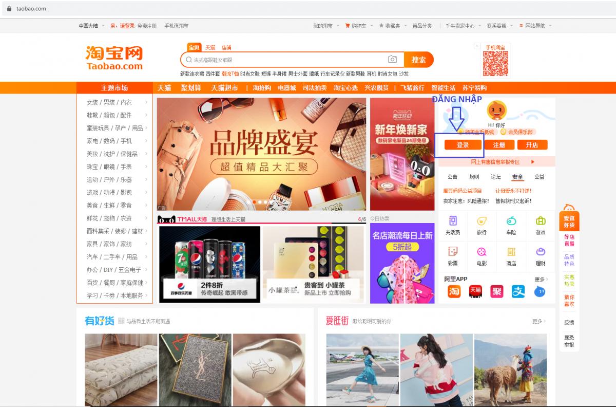Order Taobao là gì ?
