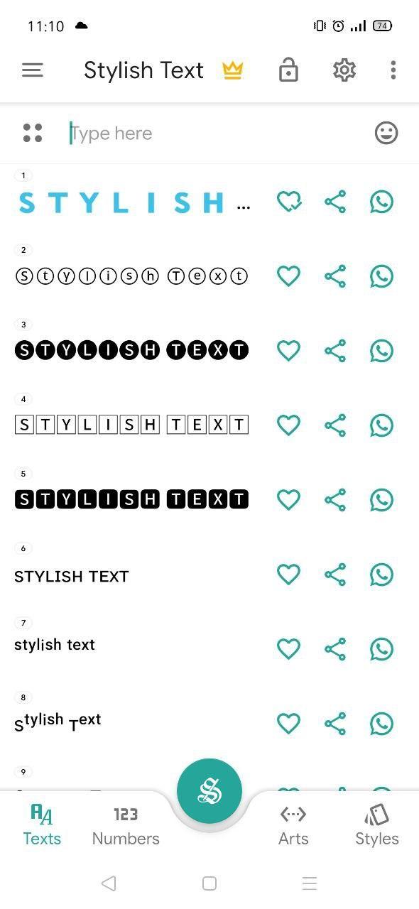 Cách viết chữ in đậm trên Facebook bằng điện thoại 1