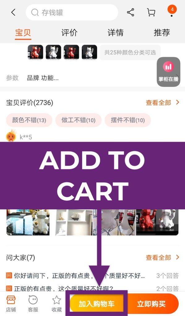 Cách mua hàng trên Taobao trực tiếp - Ảnh 11