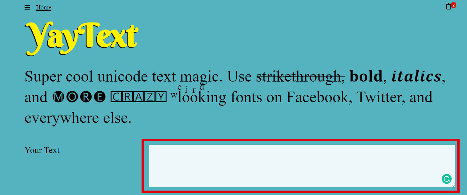 Cách viết chữ in đậm trên Facebook không bị lỗi nhờ YayText