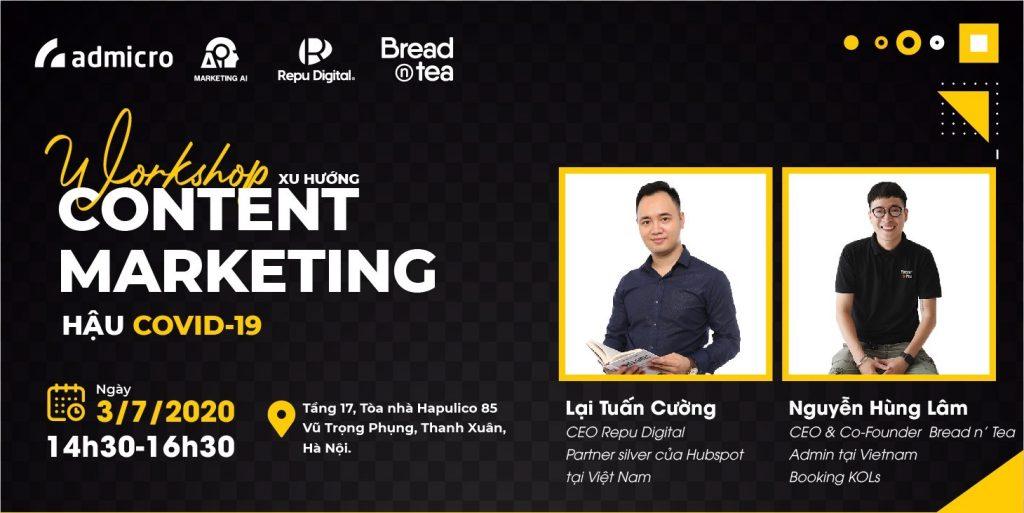 workshop content marketing