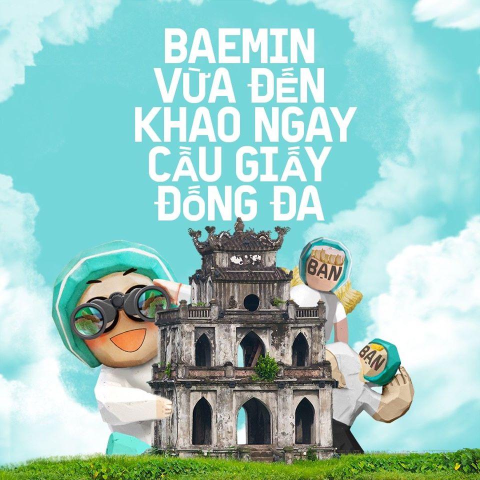 Baemin tiến ra Hà Nội, cạnh tranh với nhiều đối thủ lớn