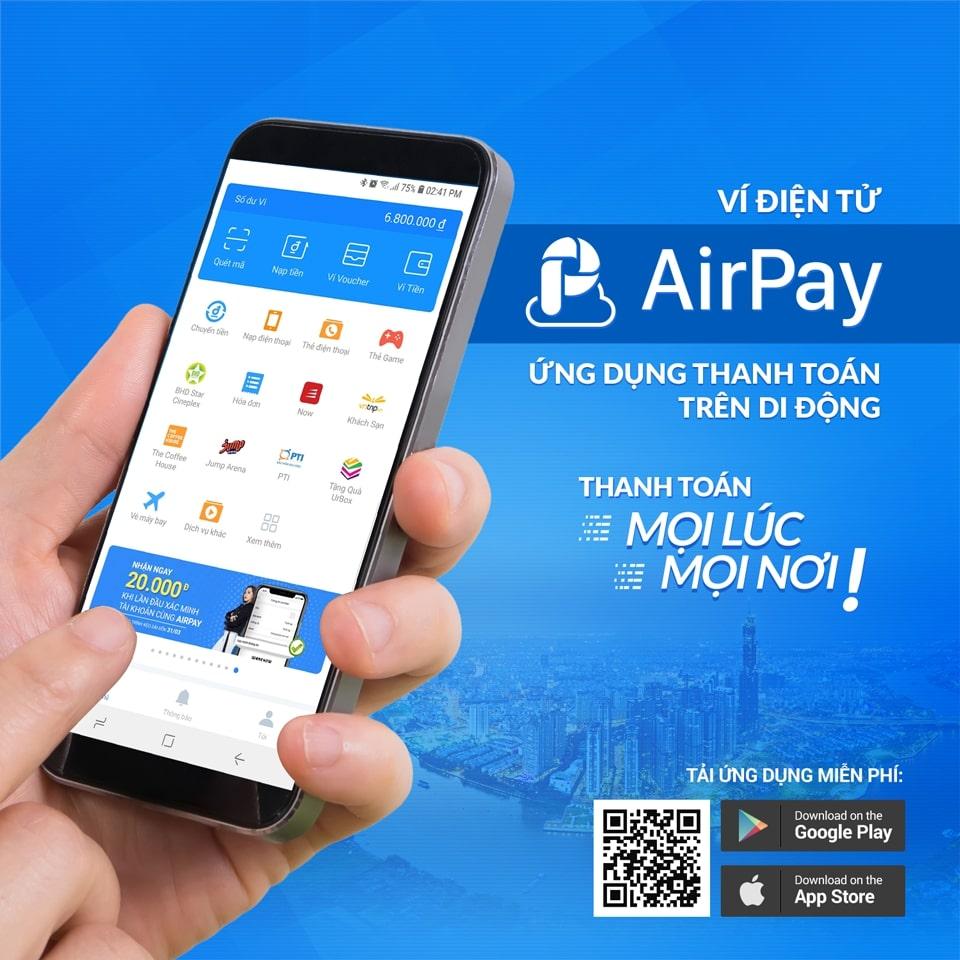 Tài khoản AirPay là gì? Cách nạp tiền từ ngân hàng liên kết vào ví AirPay