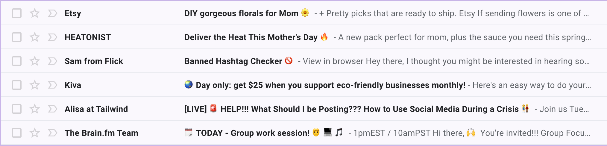 Sử dụng Emoji trong Email Marketing