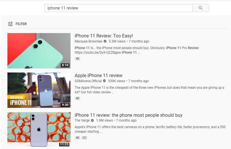 Tạo một thumbnails bắt mắt