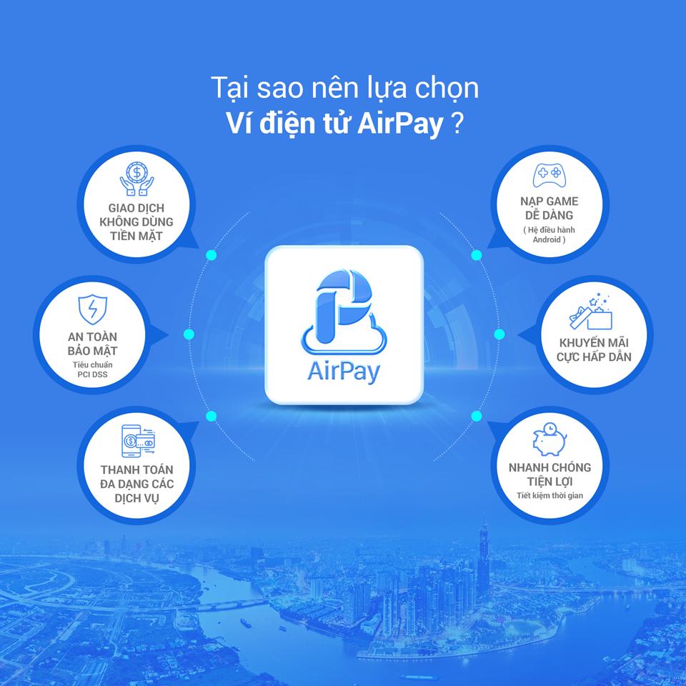 Ví điện tử AirPay có an toàn không?