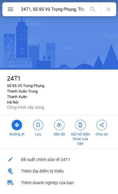 Lưu địa điểm từ Google Maps