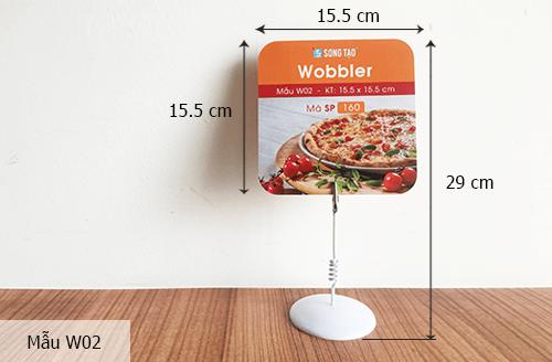 Kích thước chuẩn của Wobbler 1