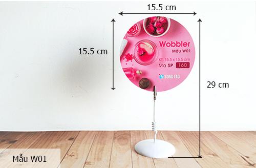 Kích thước chuẩn của Wobbler