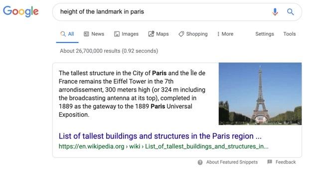 Google có thể hiểu được truy vấn nhờ vào RankBrain
