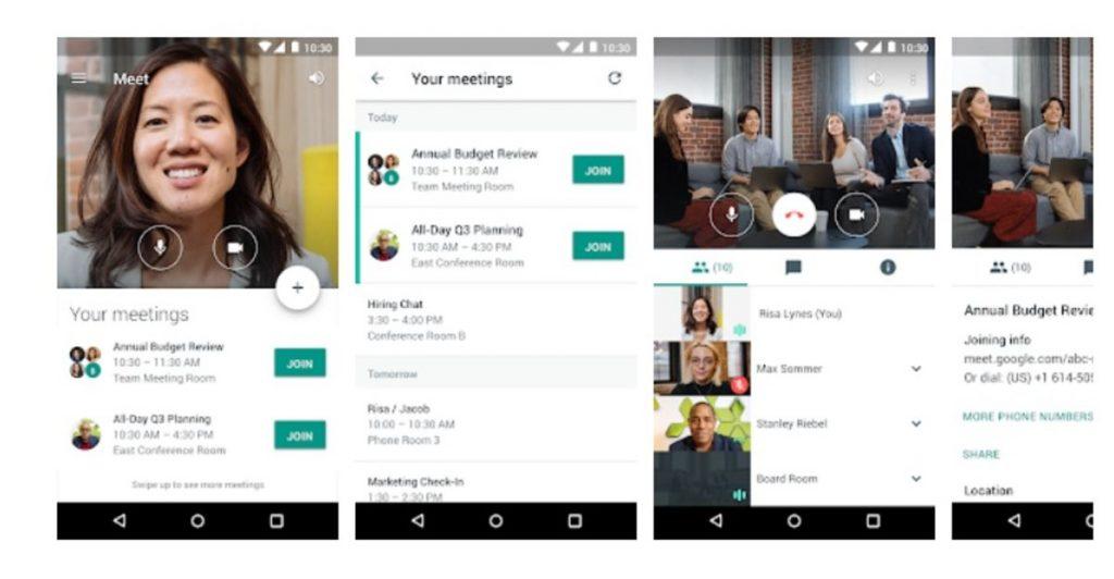 Một số lưu ý khi sử dụng dịch vụ Google Meet