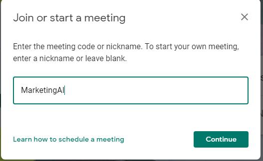 Cách đổi tên buổi họp trên Google Meet