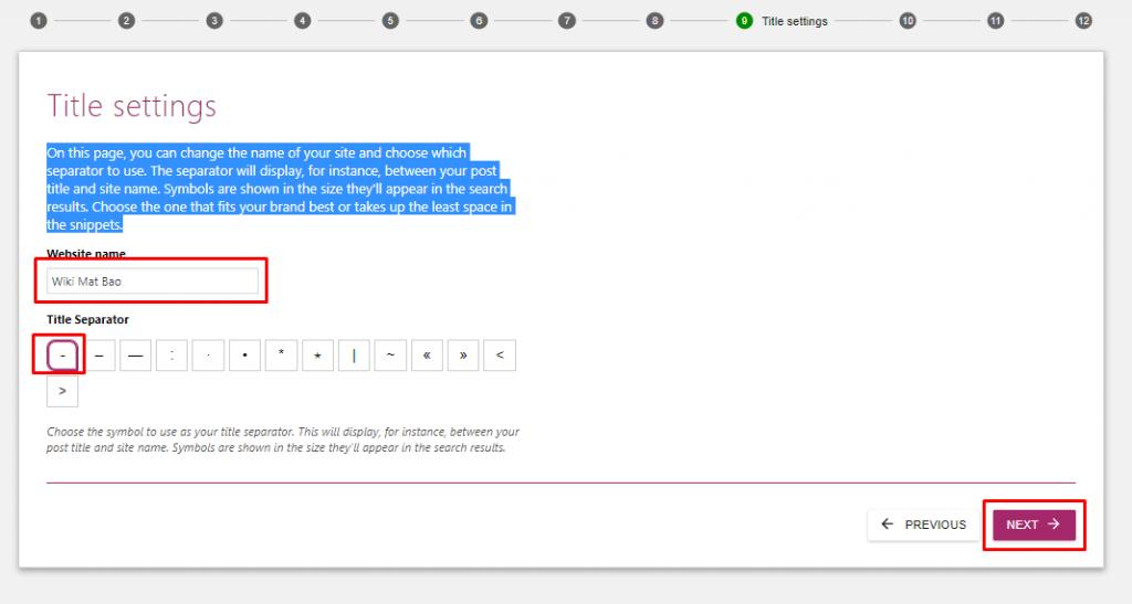 Hướng dẫn cấu hình Yoast SEO trên WordPress 7
