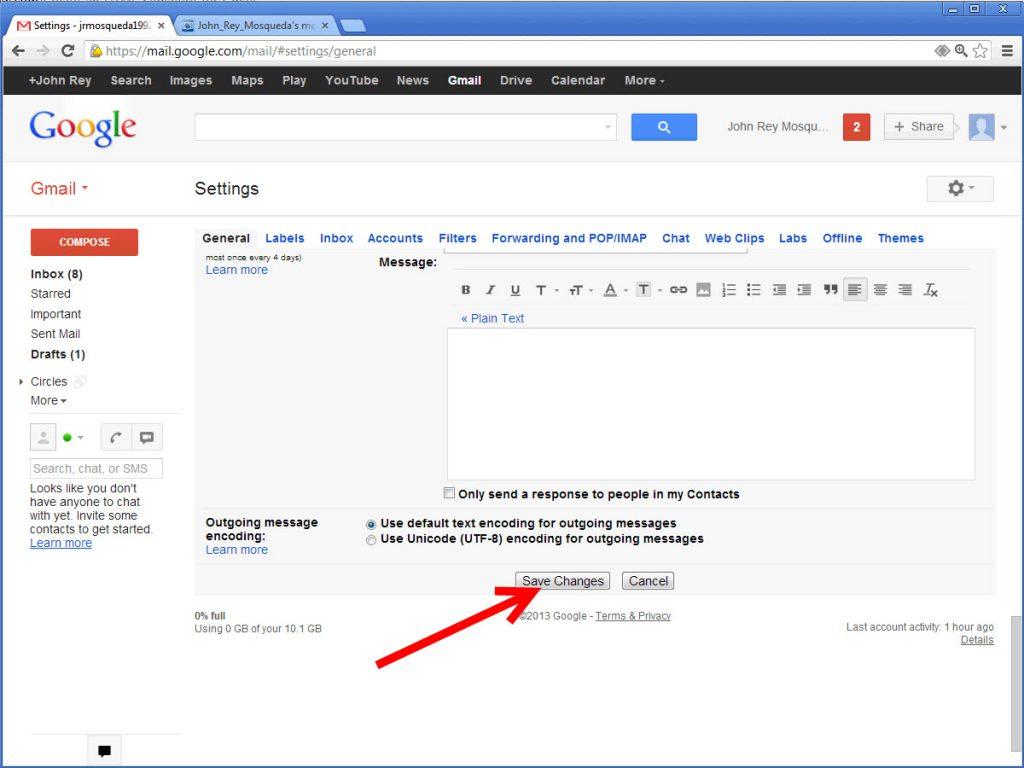 Cách tạo chữ ký Email trực tiếp trên Gmail 2