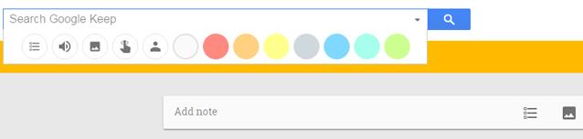 Google Keep cho phép tìm kiếm theo hình ảnh, âm thanh, màu sắc