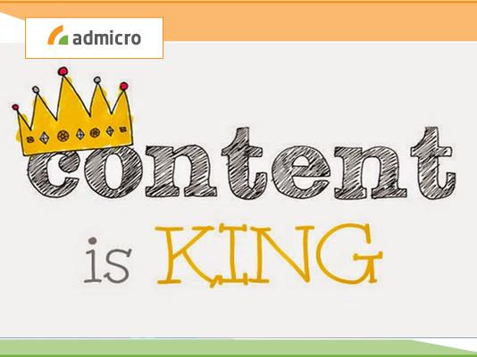 content is king là gì