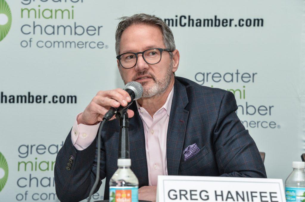 Greg Hanifee - phó hiệu trưởng Mạng lưới EMBA toàn cầu