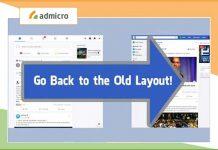 Cách chuyển về giao diện facebook cũ
