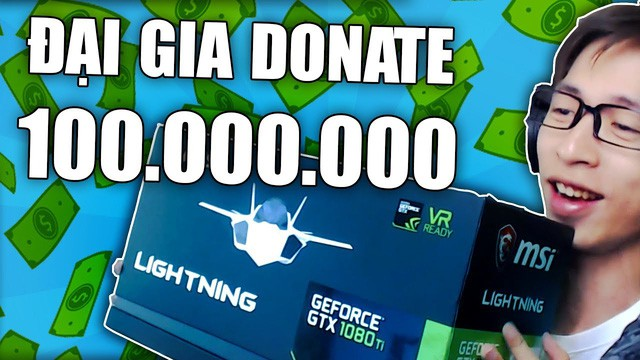 Nhận tiền donate hoặc tips từ fans
