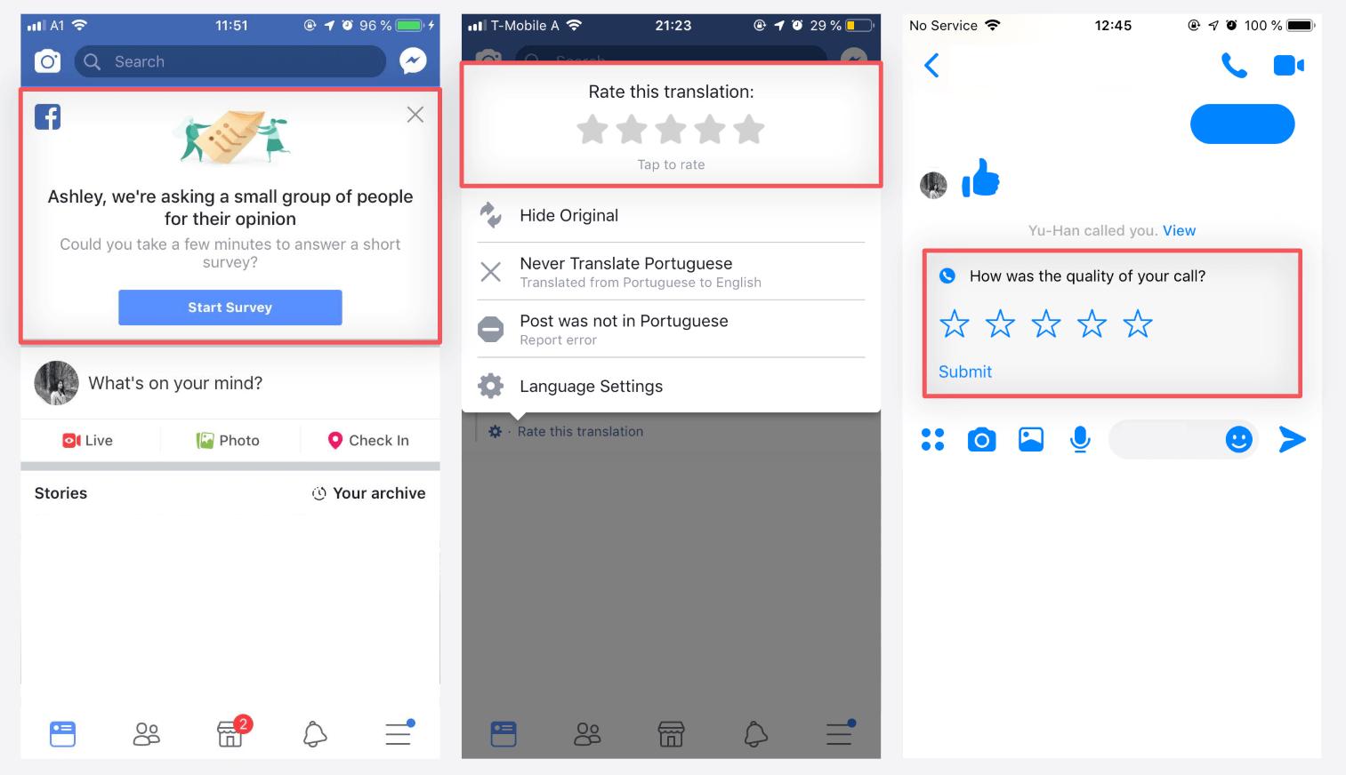 Feedback trên facebook là gì?