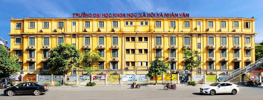 Ngành báo chí học trường nào tại Hà Nội uy tín - Trường Đại học Khoa học Xã hội và Nhân văn