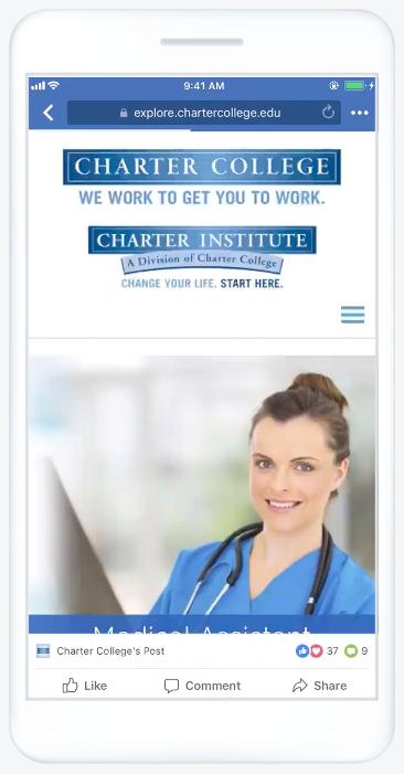 Các loại quảng cáo Facebook - Quảng cáo bản trình chiếu (slideshow ads)