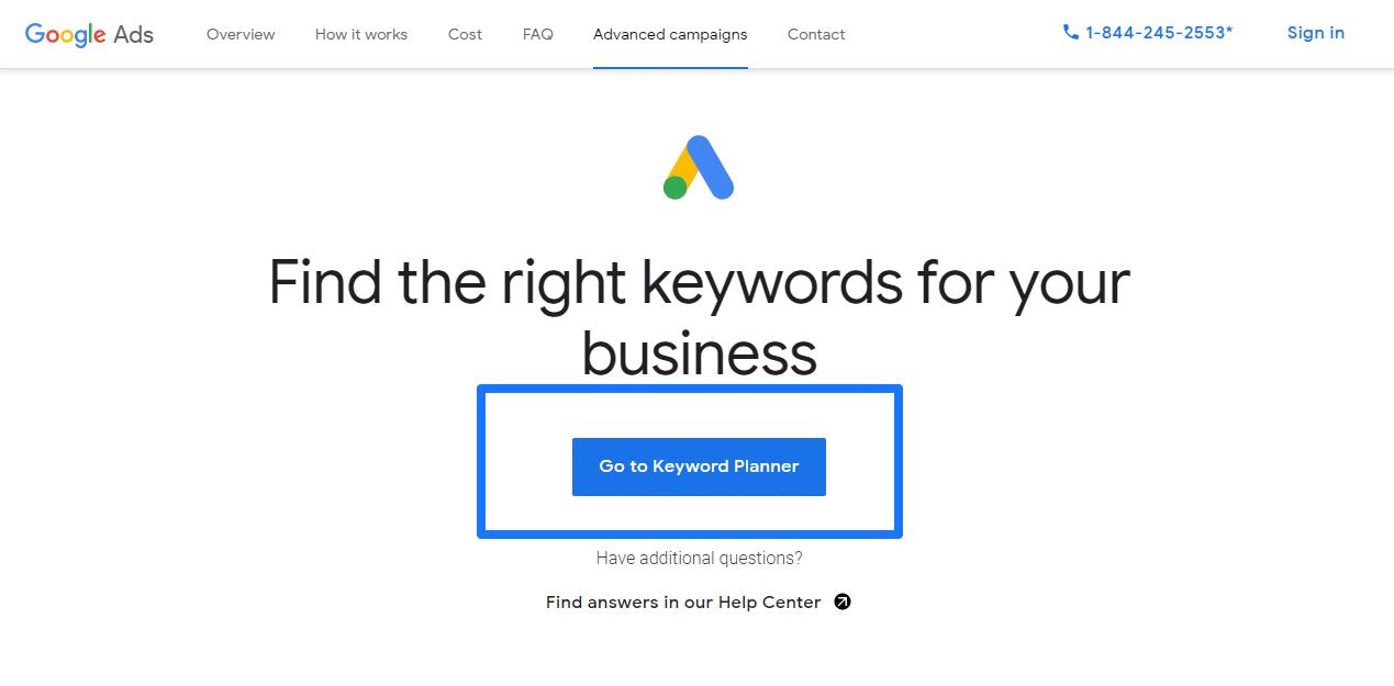 Sử dụng Google Keyword Planner để tối ưu hóa quảng cáo