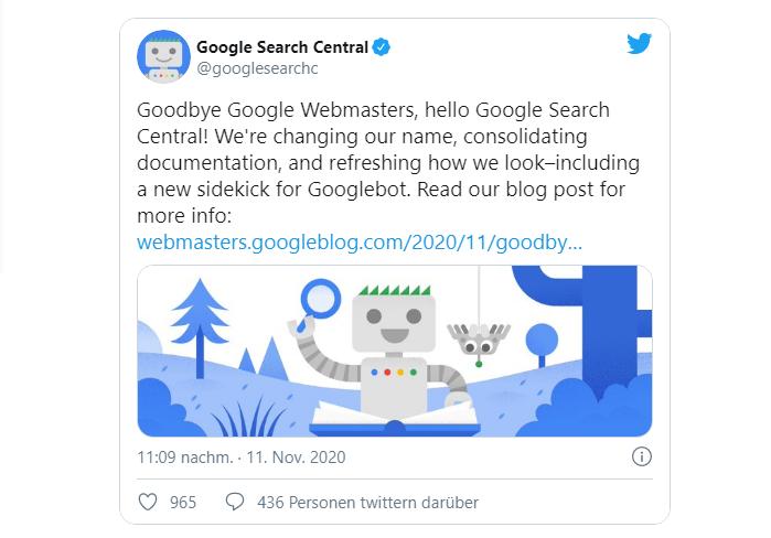 Thong bao cua Google tren Twitter 4