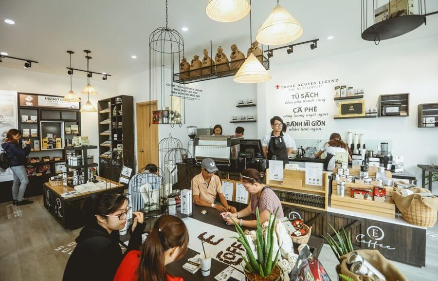 Trung Nguyên Legend ra mắt chuỗi nhượng quyền thương hiệu cafe E-Coffee